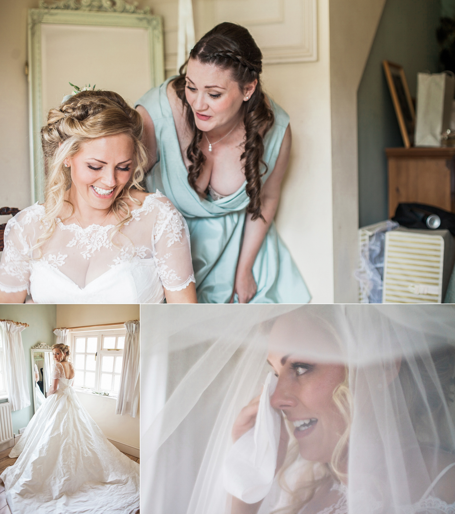 Hampshire Wedding Photography At Bonhams Barn