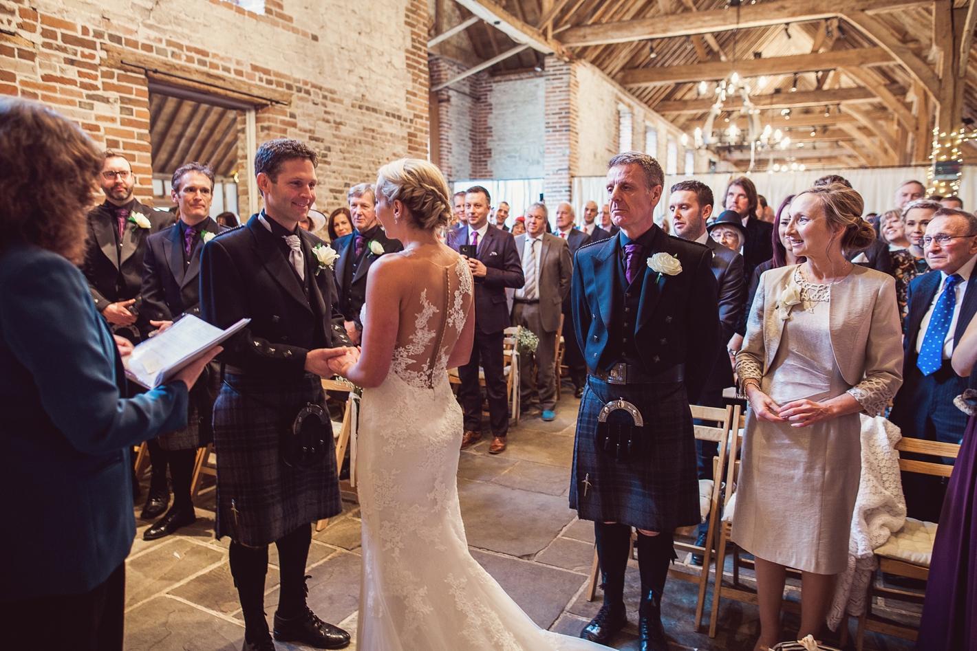 Barn Wedding Hampshire Wedding PhotographyLilybean Photography 15