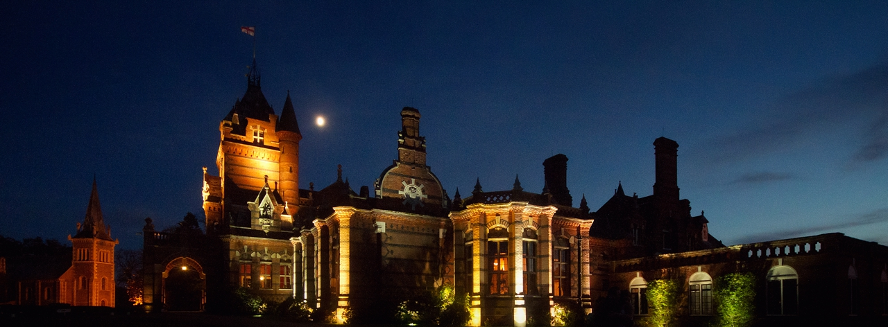 The Elvetham at night