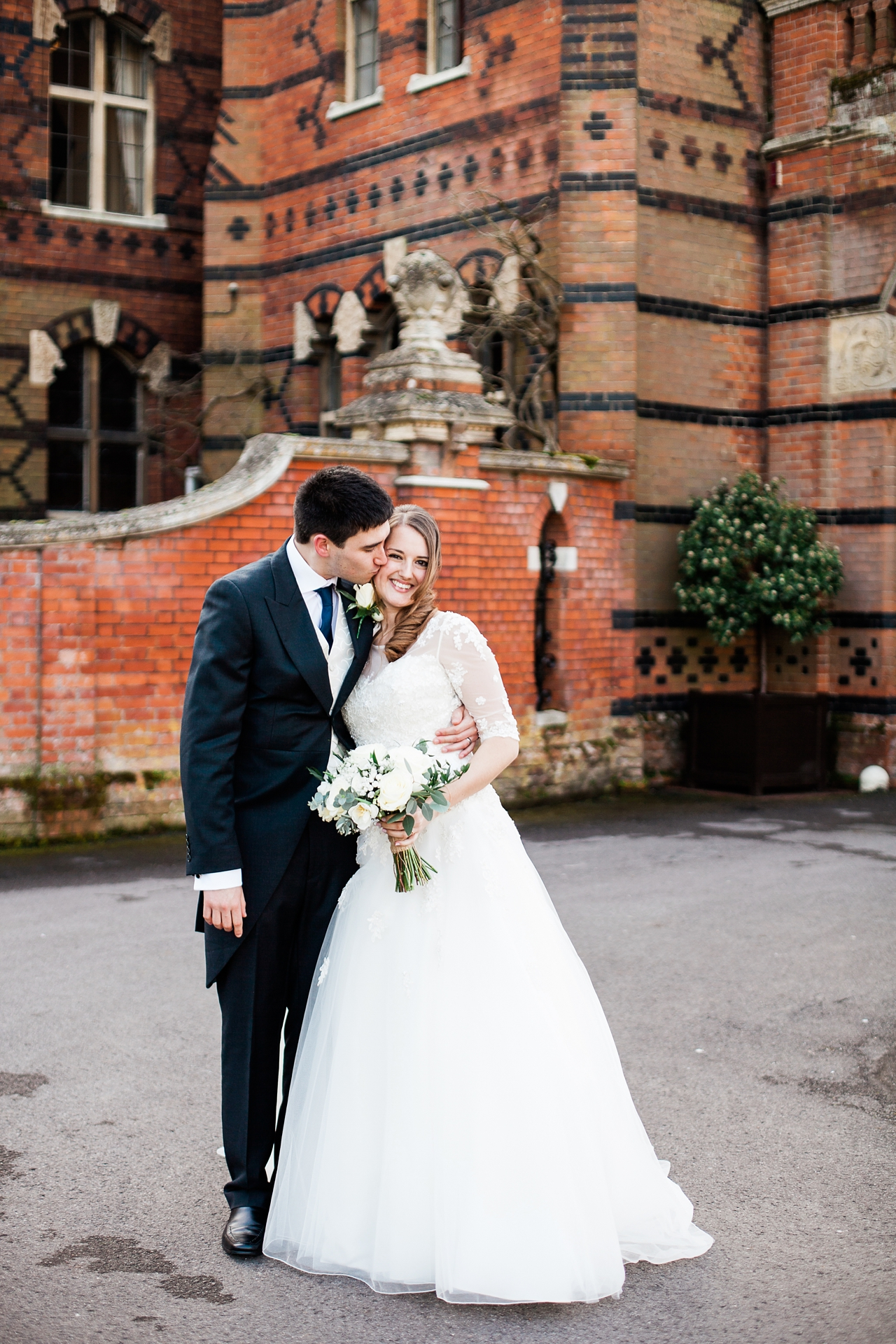 Bride and Groom happy at The Elvetham
