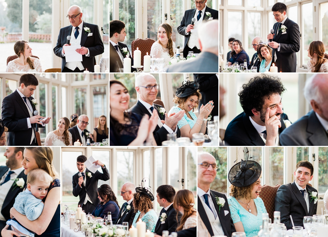 Candid speeches and reactions