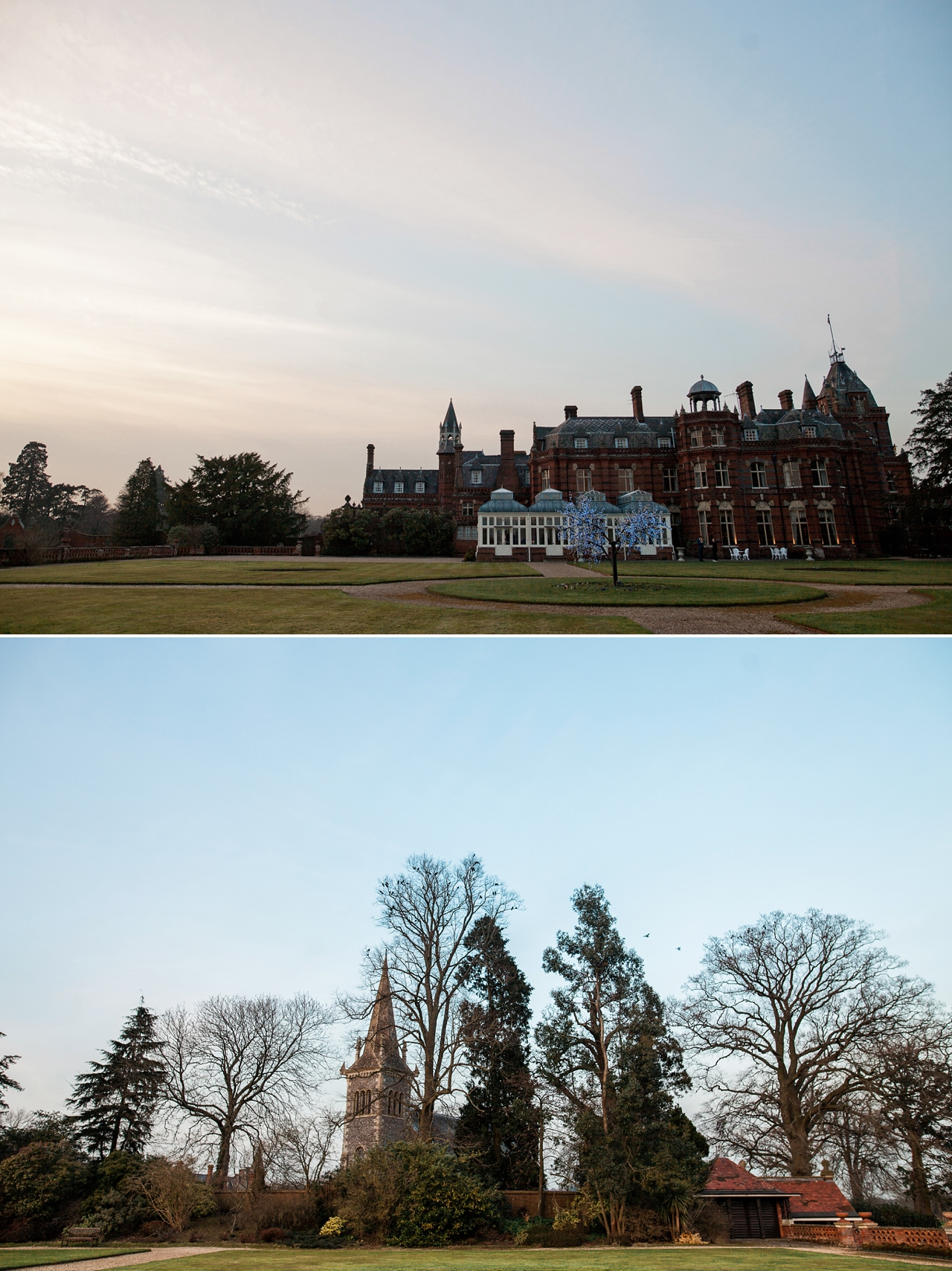 The Elvetham in the evening