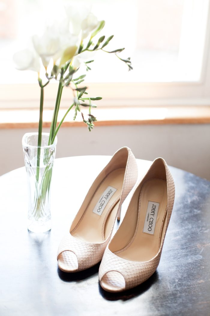 bridal prep jimmy choo