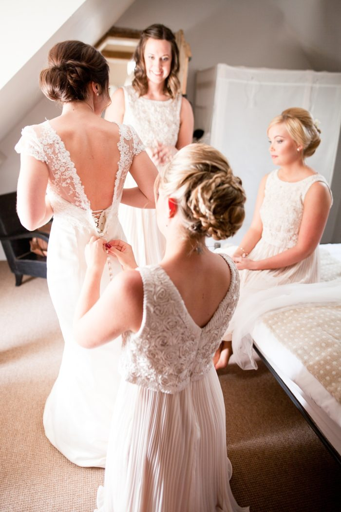 bridal prep getting ready