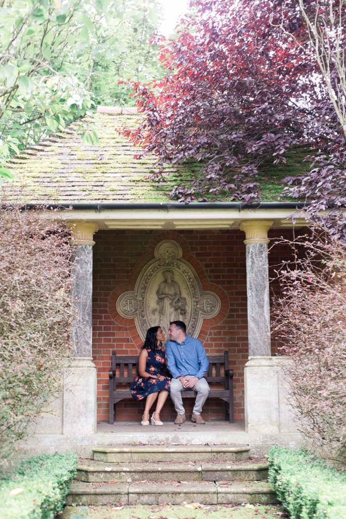Engagement Shoot at The Elvetham summer house