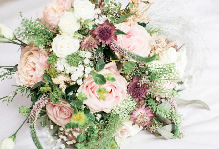 Fine Art Wedding Photography Northbrook Park Wedding Lilybean Photography beautiful flower bouquet