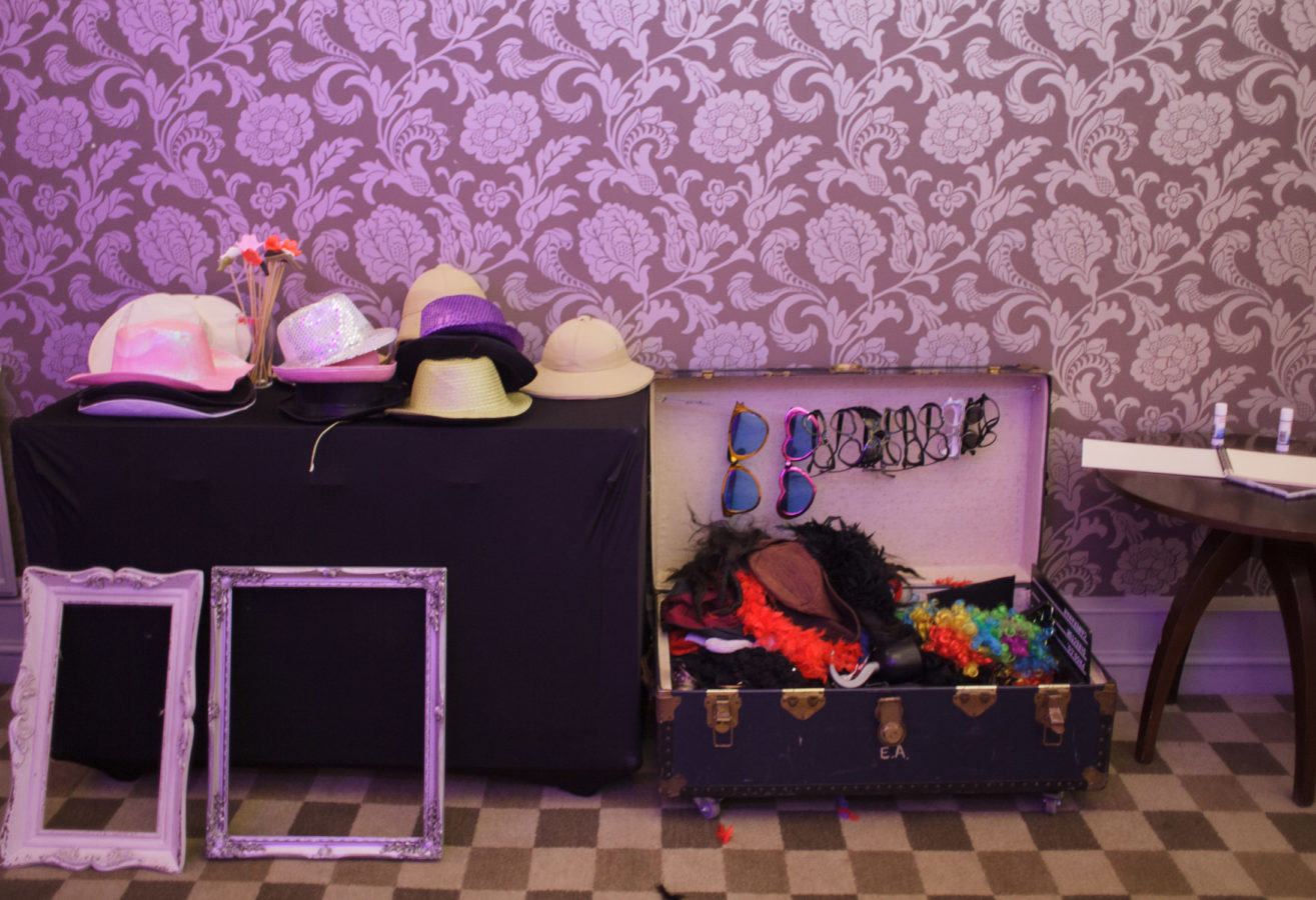 Classic Photobooth Hire Hampshire props