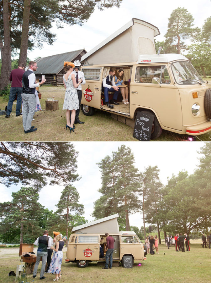 VW Camper Van Photobooth Booth Bus Hire marquee wedding military