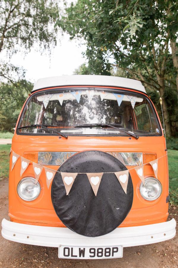 Wedding Hire VW Camper Van Wedding Transport portrait