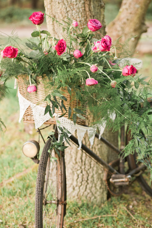Wedding hire vintage bicycle