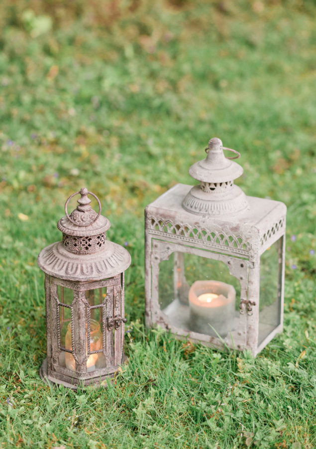 Wedding Hire Vintage Lantern styling for venue