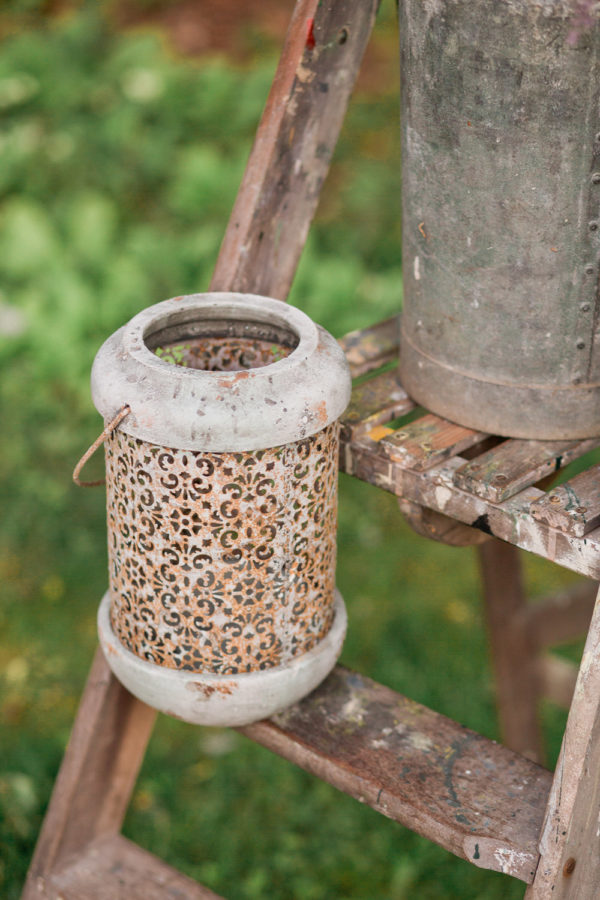 Wedding Hire Vintage Lantern rust