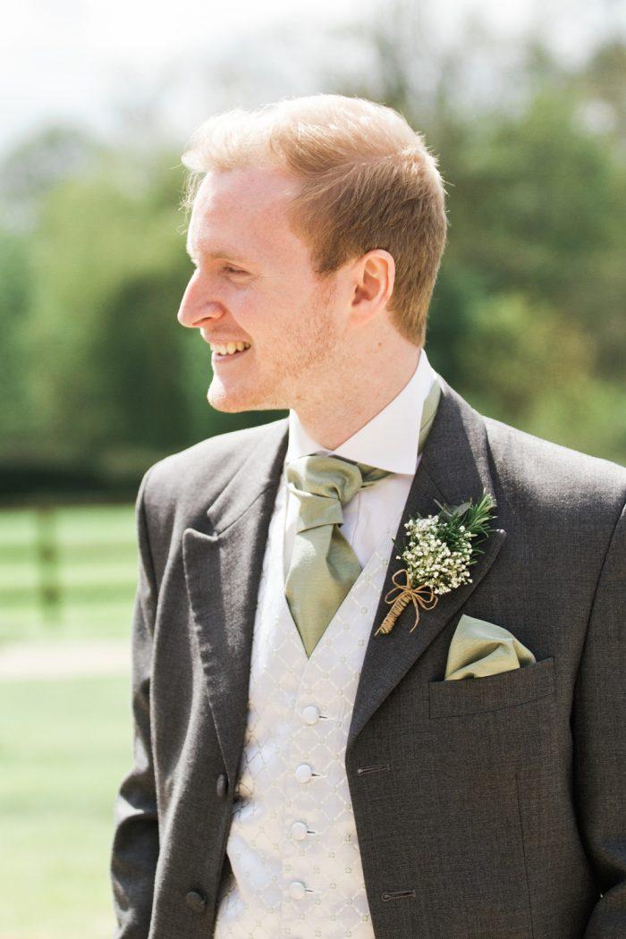 Fine Art Wedding Photography Rustic Barn Wedding candid groom