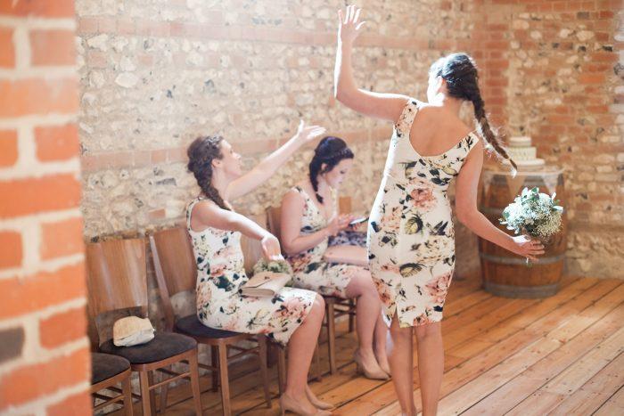 Fine Art Wedding Photography Rustic Barn Wedding candid dancing