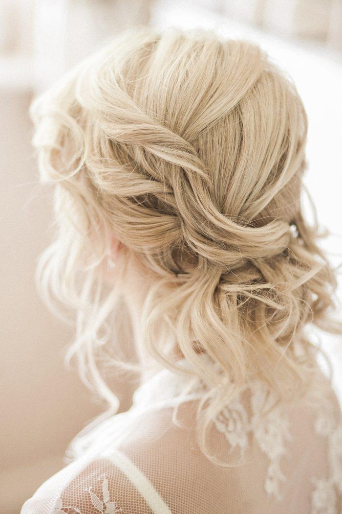 Fine Art Wedding Photography Beautiful Country Wedding undone hair