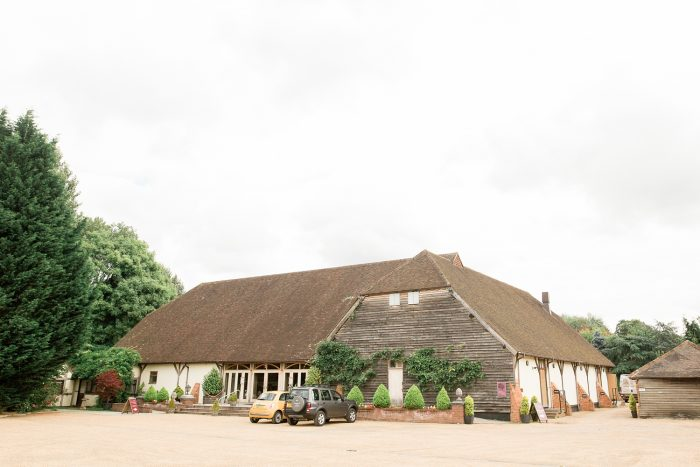 Rivervale Barn wedding photography outside view