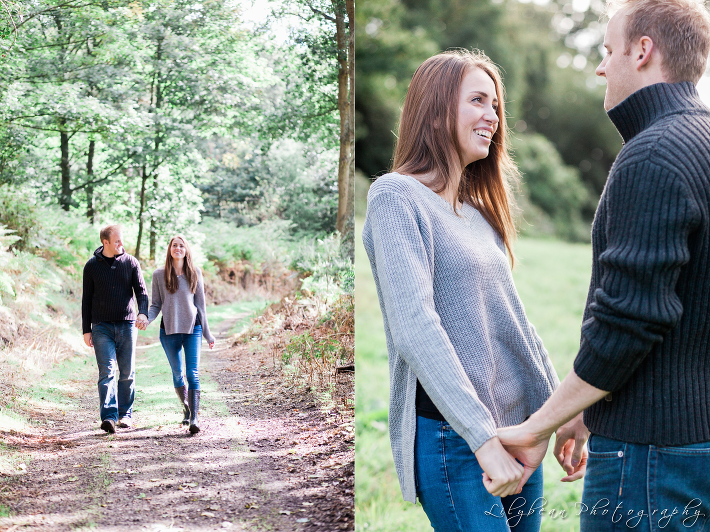 Hampshire wedding photographer elvetham wedding woodland pre-wedding shoot Lilybean Photography 01
