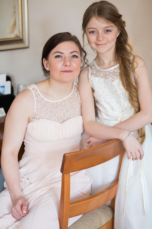 Bridesmaids natural portrait