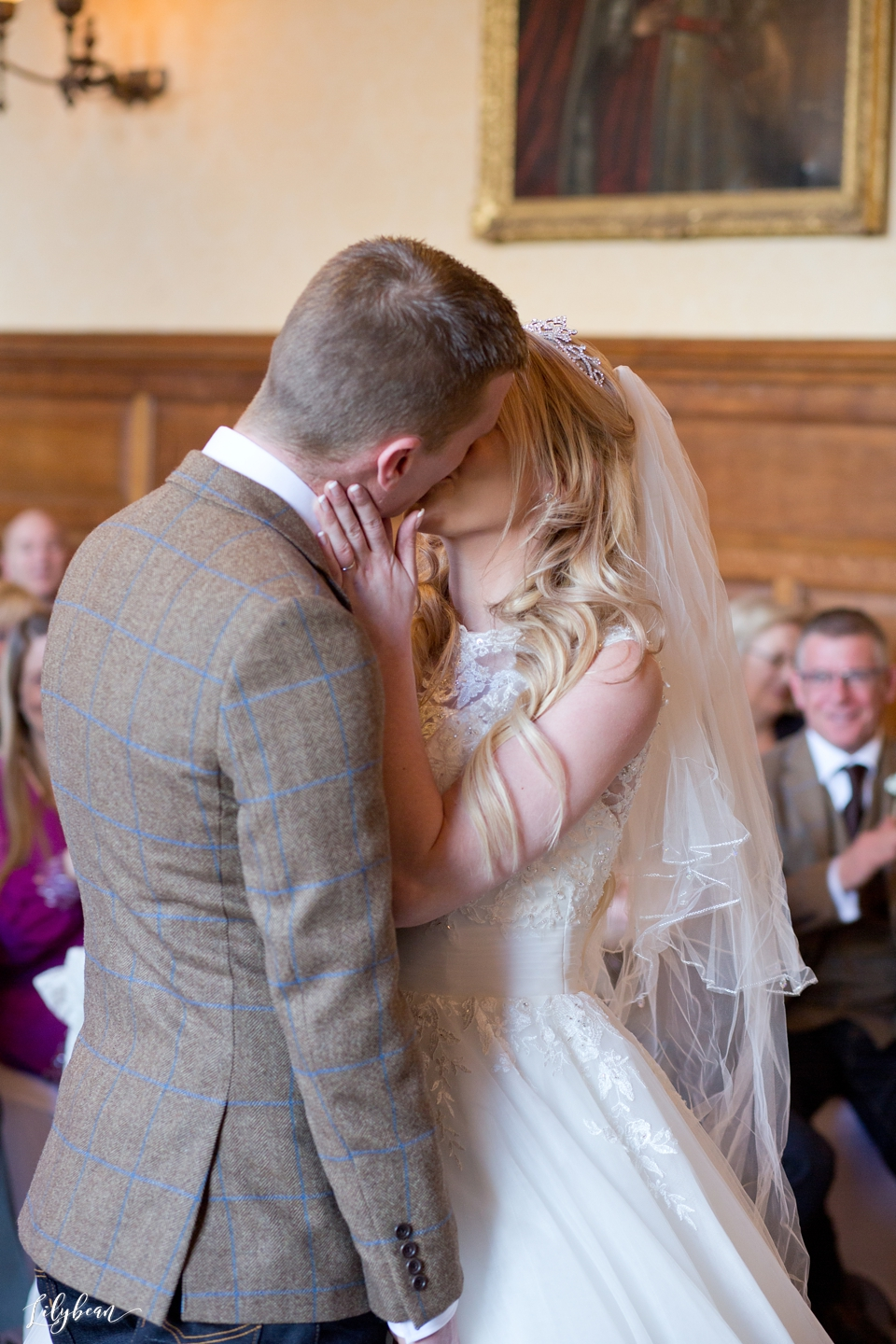 The kiss at The Elvetham