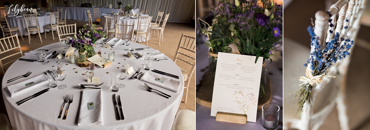 wedding breakfast decor