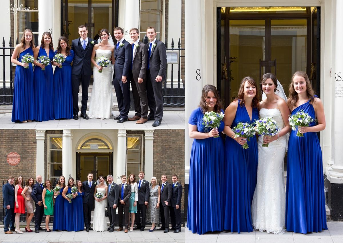 Formal shots of wedding guests