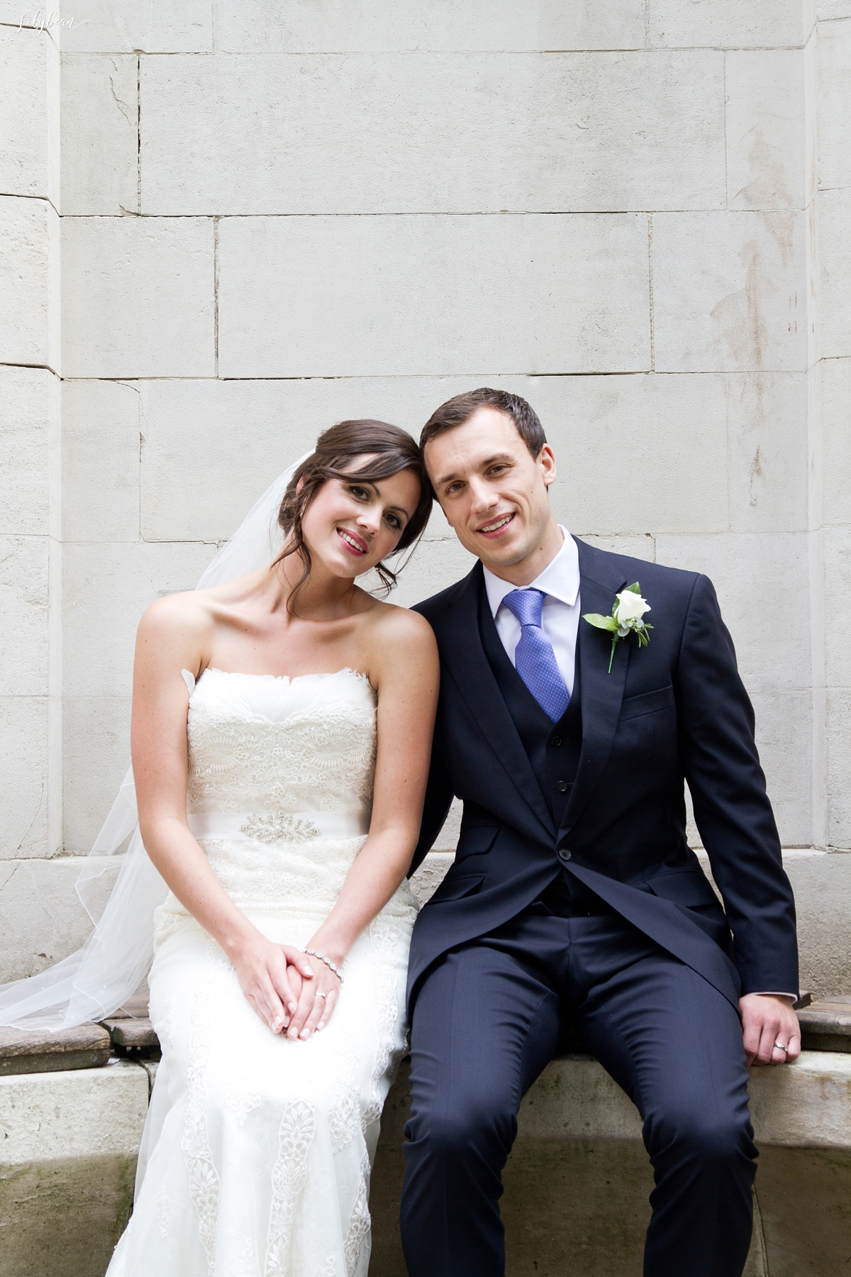 Bride and Groom portrait close up