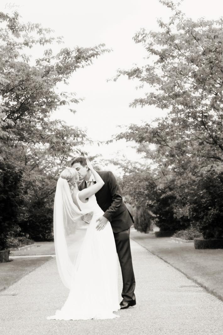 Bride and Groom One Marylebone Wedding photography