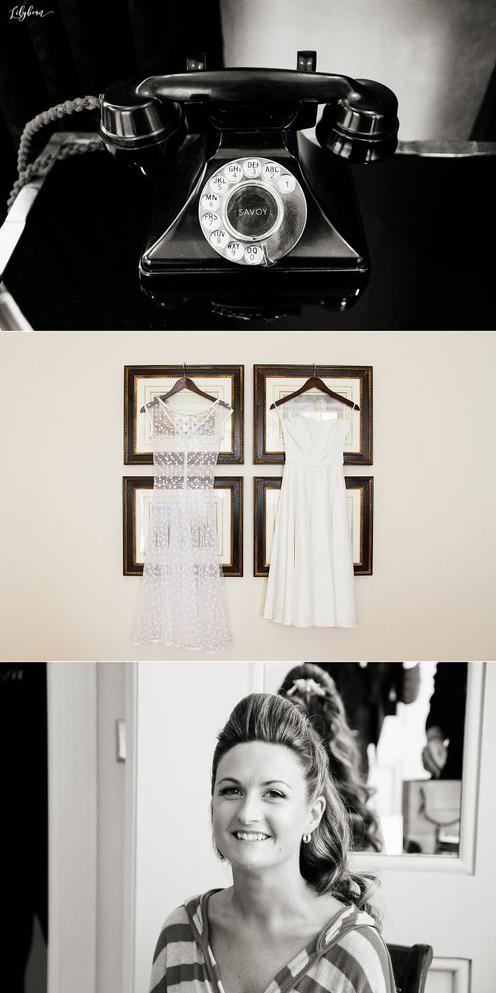 Bridal Prep at The Savoy