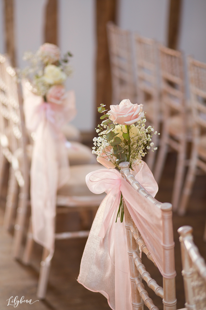 wedding reception decor flower details