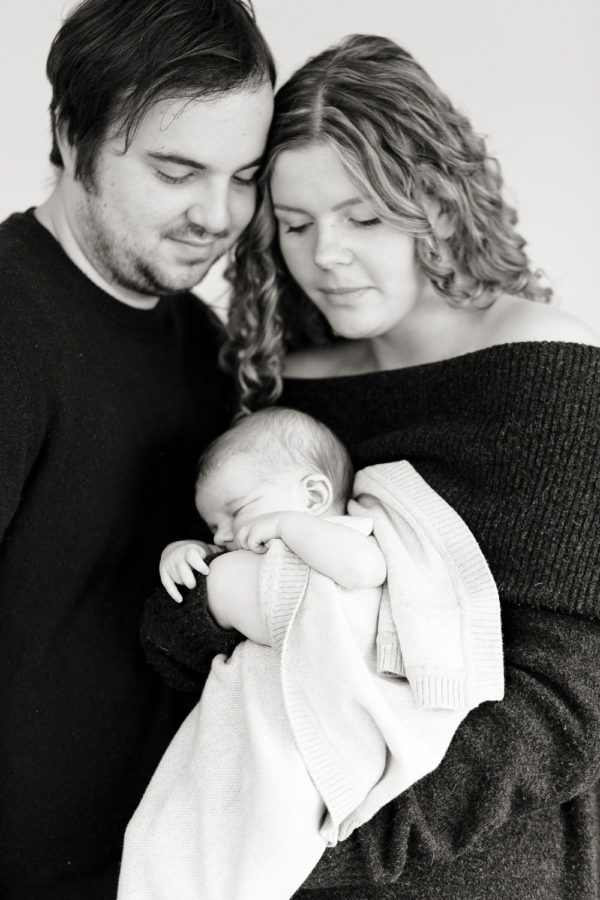 Newborn baby session - portrait