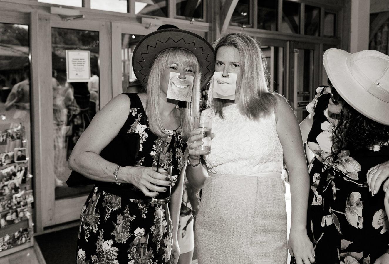 Classic Photobooth Hire Hampshire ladies dressed up