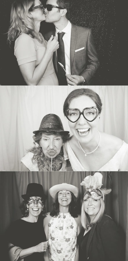 Classic Photobooth Hire Hampshire montage of photos