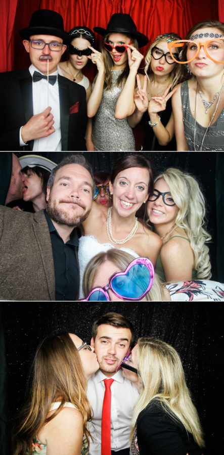 Classic Photobooth Hire Hampshire guests