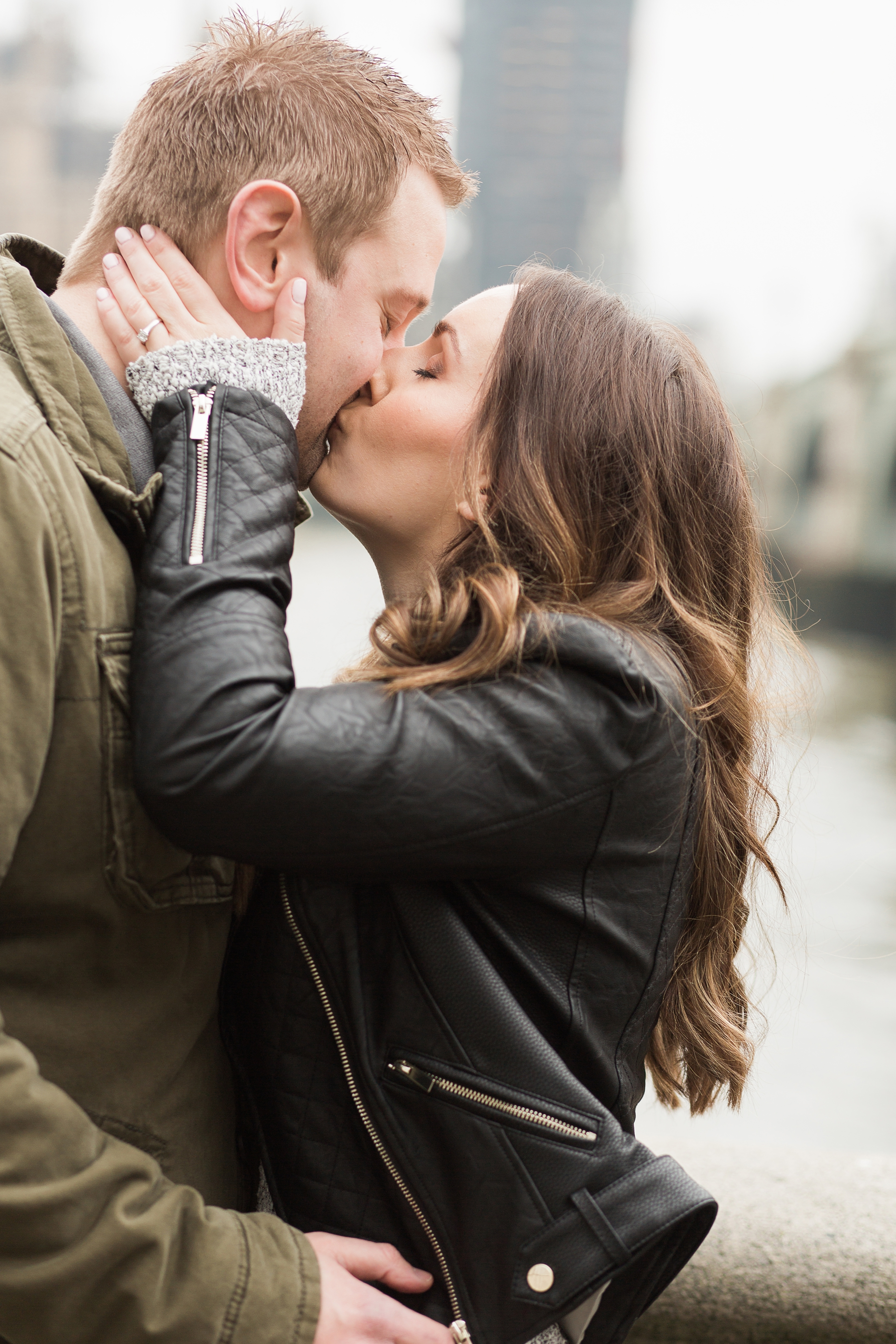 London Fine Art Engagement Photography perfect embrace