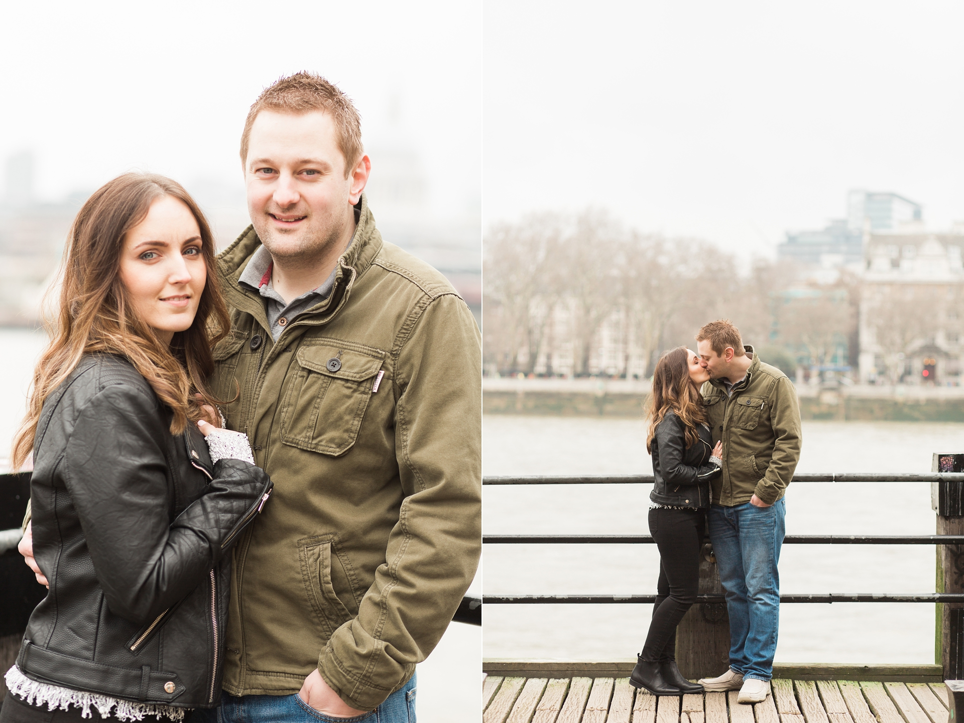 London Fine Art Engagement Photography London Thames View